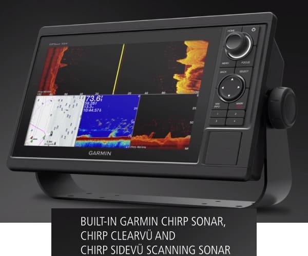 Garmin GPSMAP 1042xsv - Chirp Clearvu