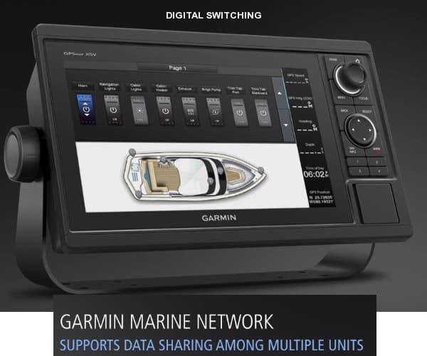 Garmin GPSMAP 1042xsv - Digital Switching