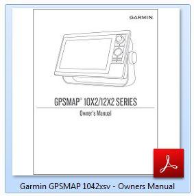 Garmin GPSMAP 1042xsv - Manual
