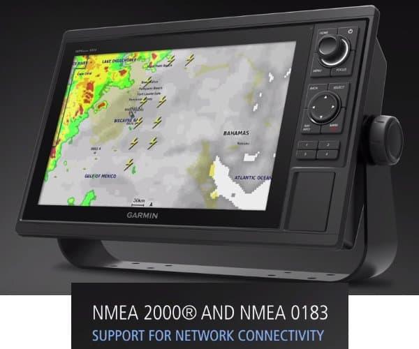 Garmin GPSMAP 1042xsv - Network Sharing