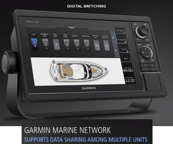 Garmin GPSMAP 1242xsv - Digital Switching
