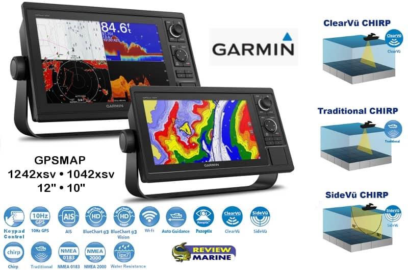 Garmin GPSMAP 1242xsv - Features