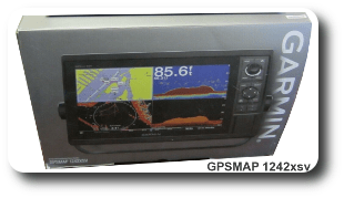 Garmin GPSMAP 1242xsv - For Sale