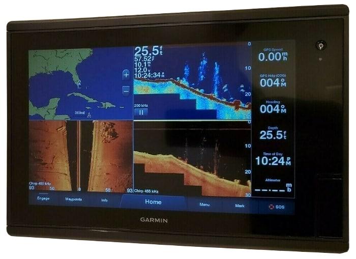 Garmin GPSMAP 1242xsv Touch - Chirp Sonar