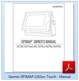Garmin GPSMAP 1242xsv Touch - Manual
