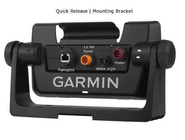 Garmin echoMAP CHIRP 73sv- Rear Connections