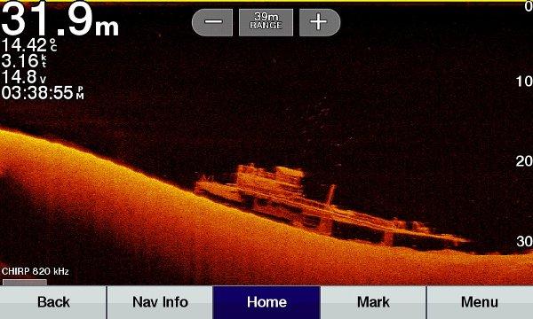 ECHOMAP UHD 73cv - Ultra High-Definition Scanning Sonar