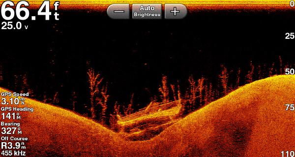 Garmin ECHOMAP Plus 63cv - Clearvu Sonar