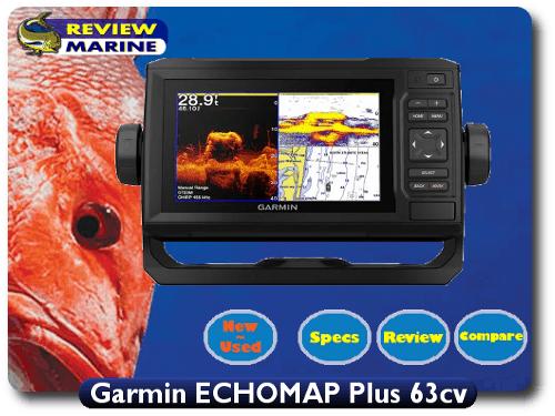 Garmin ECHOMAP Plus 63cv