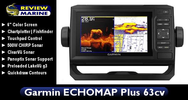 Garmin ECHOMAP Plus 63cv - Review
