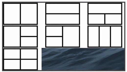 Garmin ECHOMAP Plus 73sv - Screen Combinations