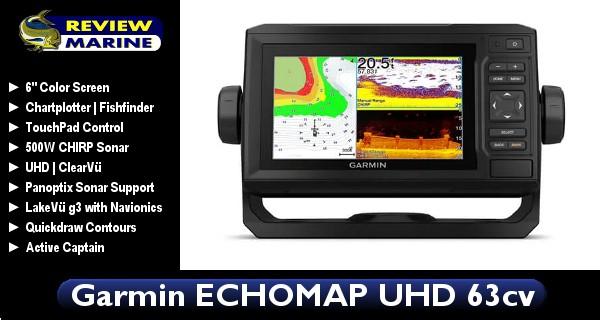 Garmin ECHOMAP UHD 63cv - Review