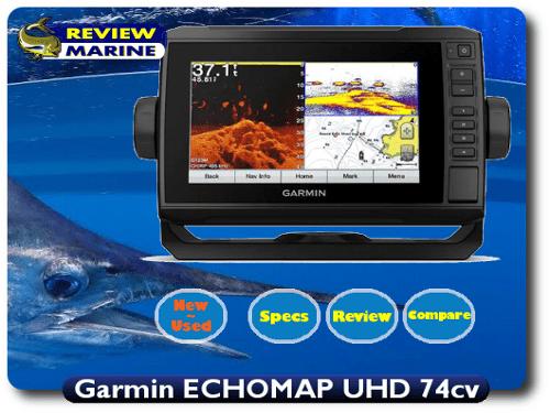 Garmin ECHOMAP UHD 74cv