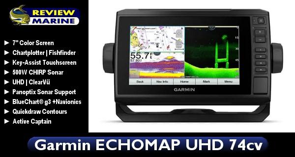 Garmin ECHOMAP UHD 74cv - Review