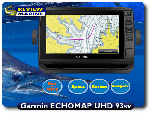 Garmin ECHOMAP UHD 93sv