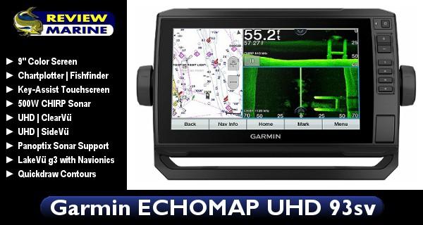 Garmin ECHOMAP UHD 93sv - Review