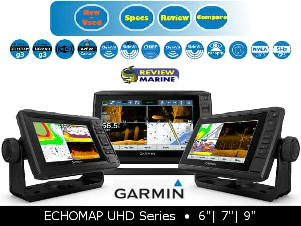 Garmin ECHOMAP UHD Series Features
