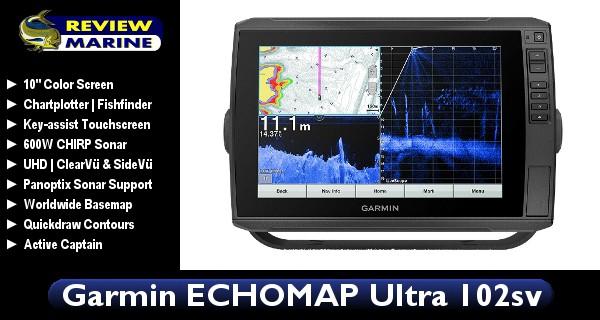 Garmin ECHOMAP Ultra 102sv - Review