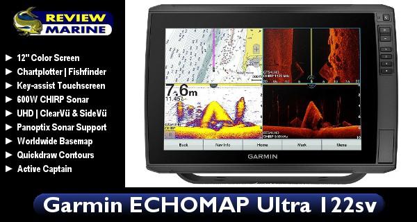 Garmin ECHOMAP Ultra 122sv - Review