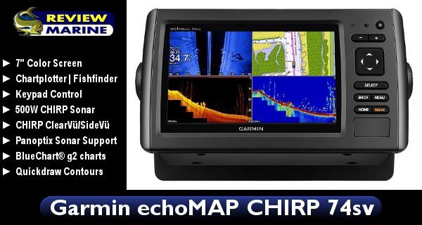 Garmin EchoMAP CHIRP 74sv - Review