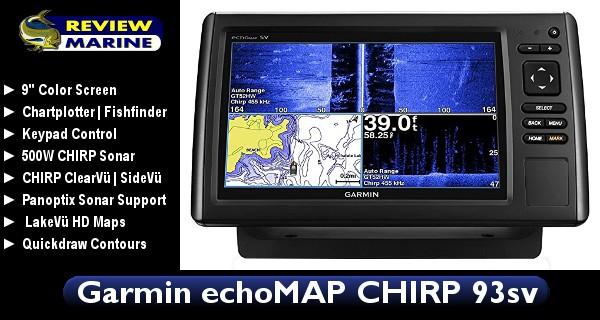 Garmin EchoMAP CHIRP 93sv - Review