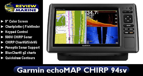 Garmin EchoMAP CHIRP 94sv - Review
