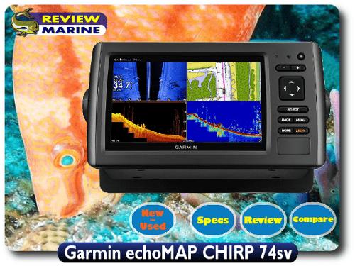 Garmin echoMAP CHIRP 74sv