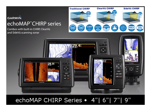 Garmin EchoMAP Chirp Series