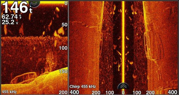 Garmin echoMAP CHIRP 73sv - SideVu Sonar
