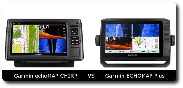 Garmin echoMAP CHIRP vs ECHOMAP Plus