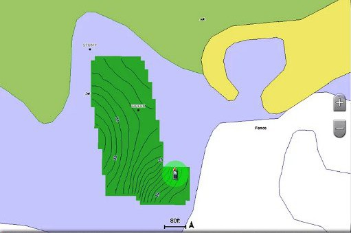 GPSMAP 1242xsv Touch - Quickdraw Contours