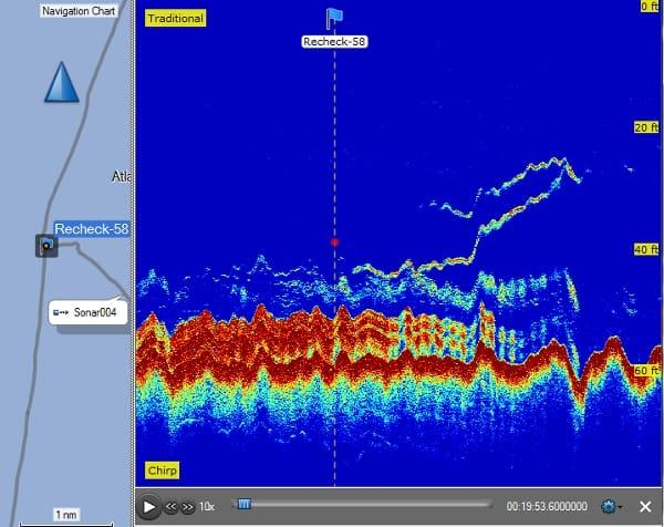 Garmin GPSMAP 1042xsv - Sonar Recording