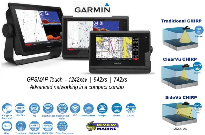 Garmin GPSMAP Touch - Lineup