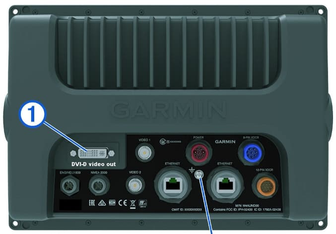 Garmin 7600 | Rear Connections