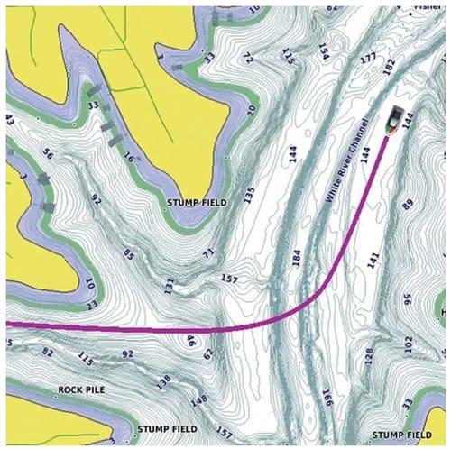 Garmin GPSMAP 742xs Touch - LakeVu g3 - Inland Charts