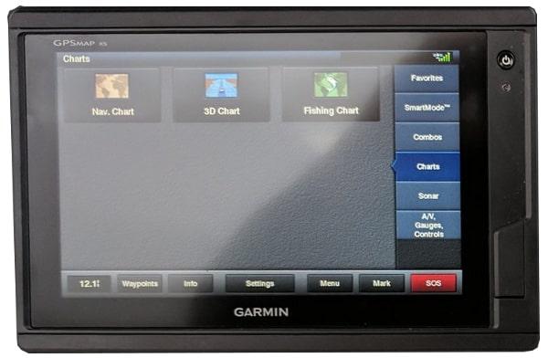 Garmin GPSMAP 742xs Touch - Navigation