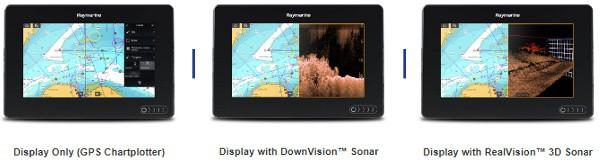 Raymarine AXIOM 7 - 3 Options