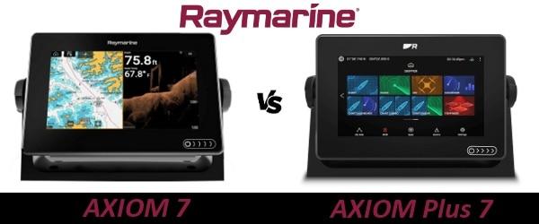Raymarine AXIOM 7 vs AXIOM Plus 7