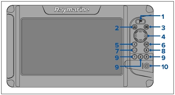 Raymarine Element 12 HV - KeyPad Control