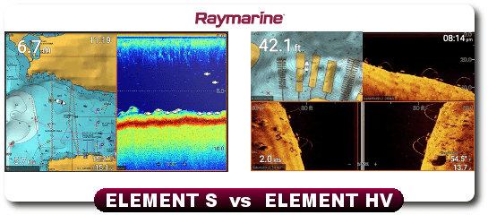 Raymarine Element 7 HV vs Element 7 S