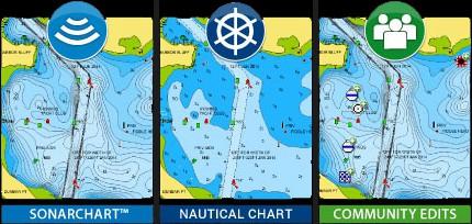Raymarine Element 9 HV - Navionics Plus Charts