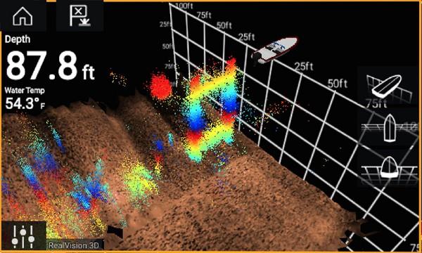 Raymarine Element 9 HV - ReaVision 3D Sonar