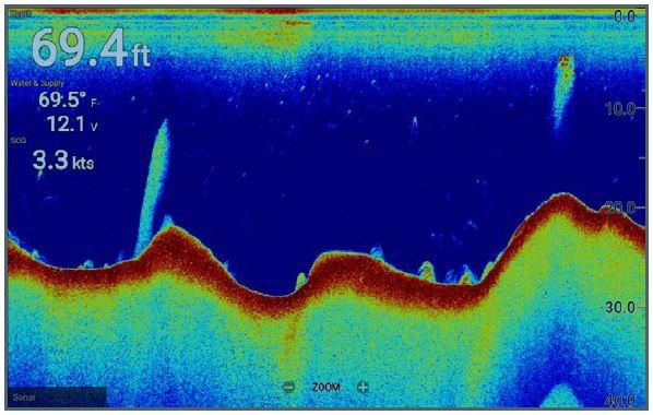 Raymarine Element 9 S - High CHIRP Sonar Screen
