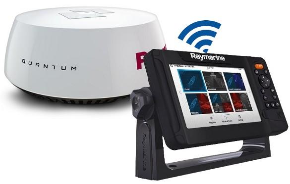 Raymarine Element 9 S - Quantum Radar