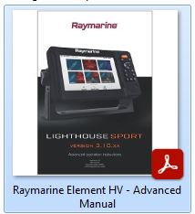 Raymarine Element HV - Advanced Manual