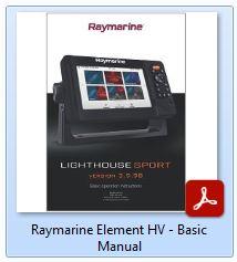 Raymarine Element HV - Basic Manual