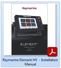 Raymarine Element HV - Installation Manual