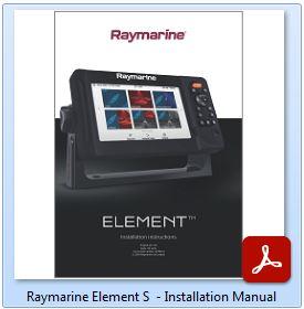 Raymarine Element S - Installation Manual