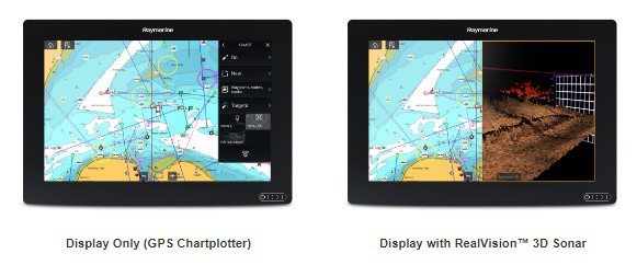 Raymarine AXIOM 12 - 2 Options