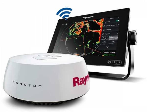 Raymarine AXIOM 9 - Quantum Radar